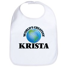 World's Greatest Krista Bib