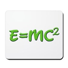 E=MC squared 4 Mousepad