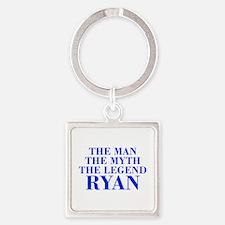 The Man Myth Legend RYAN-bod blue Keychains