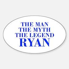 The Man Myth Legend RYAN-bod blue Bumper Stickers