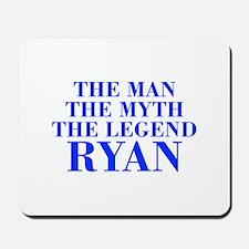 The Man Myth Legend RYAN-bod blue Mousepad