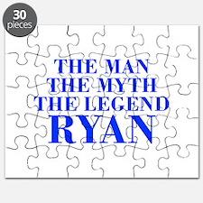 The Man Myth Legend RYAN-bod blue Puzzle
