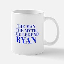 The Man Myth Legend RYAN-bod blue Mugs