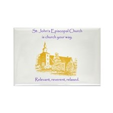 St. Johns Is Church Your Way. Magnets