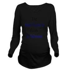 The Man I Love Is Fr Long Sleeve Maternity T-Shirt