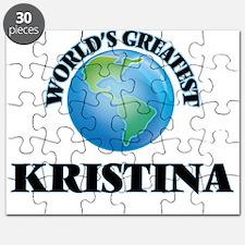 World's Greatest Kristina Puzzle