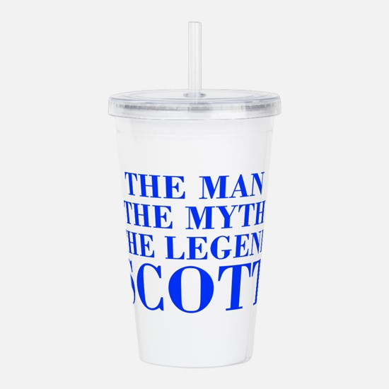 The Man Myth Legend SCOTT-bod blue Acrylic Double-