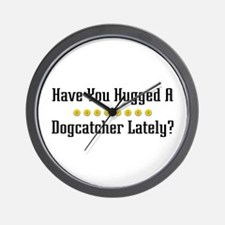 Hugged Dogcatcher Wall Clock