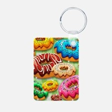 Donuts Party Time Keychains