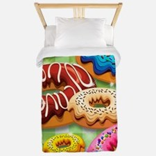 Donuts Party Time Twin Duvet