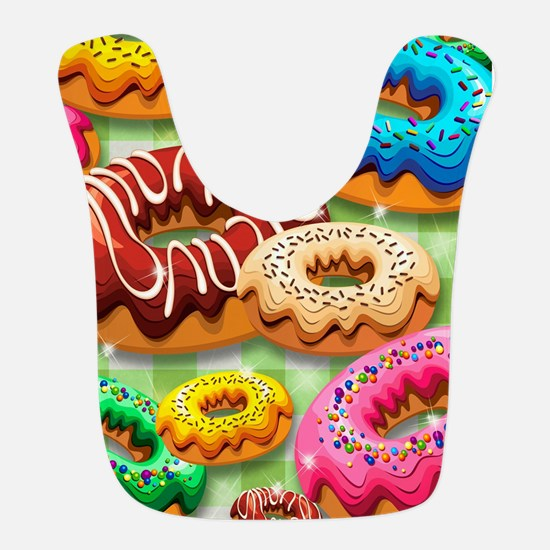 Donuts Party Time Bib