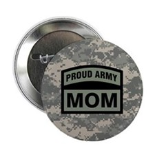 "Proud Army Mom Camo 2.25"" Button"