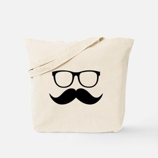 Mr. Stache Tote Bag