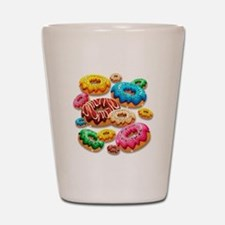 Donuts Party Time Shot Glass