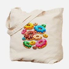 Donuts Party Time Tote Bag