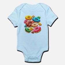 Donuts Party Time Body Suit