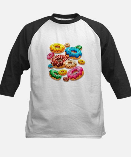 Donuts Party Time Baseball Jersey