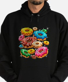 Donuts Party Time Hoodie