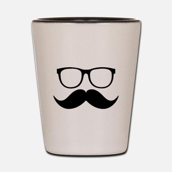 Mr. Stache Shot Glass