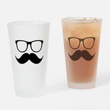 Mr. Stache Drinking Glass