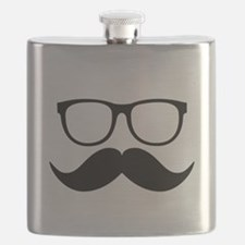 Mr. Stache Flask