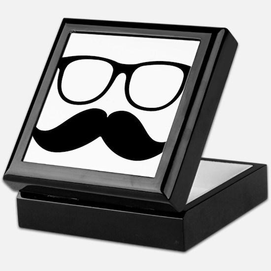 Mr. Stache Keepsake Box