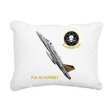Cute Jet a Rectangular Canvas Pillow