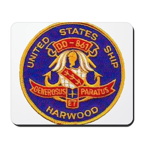 USS HARWOOD Mousepad