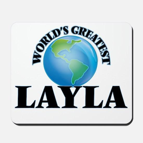 World's Greatest Layla Mousepad