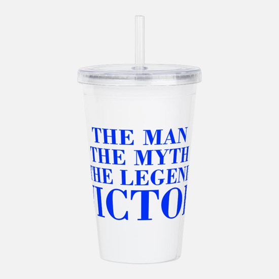 The Man Myth Legend VICTOR-bod blue Acrylic Double
