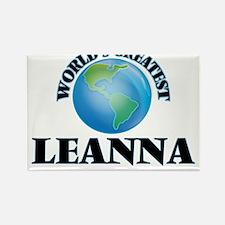 World's Greatest Leanna Magnets