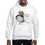 Brown Bar Cap Flight Hooded Sweatshirt