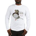 Brown Bar Cap Flight Long Sleeve T-Shirt