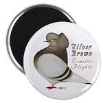 Brown Bar Cap Flight Magnet