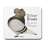 Brown Bar Cap Flight Mousepad