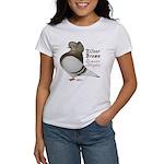 Brown Bar Cap Flight Women's T-Shirt