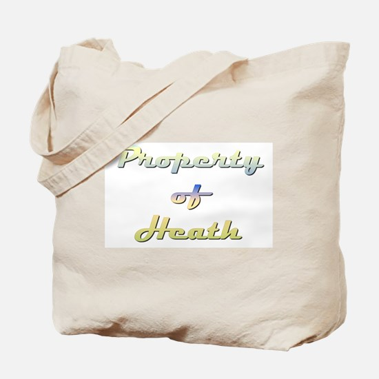 Property Of Heath Male Tote Bag