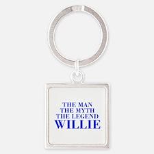 The Man Myth Legend WILLIE-bod blue Keychains