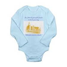 St. Johns is church your way. Body Suit