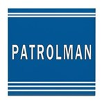 Patrolman Blues Tile Coaster