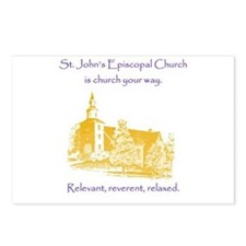 St. Johns is church your way. Postcards (Package o