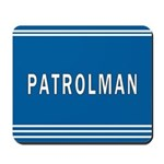 Patrolman Blues Mousepad