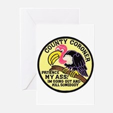 County Coroner Greeting Cards (Pk of 10)