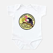 County Coroner Infant Bodysuit