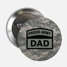 """Proud Army Dad Camo 2.25"""" Button"""