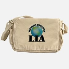 World's Greatest Lia Messenger Bag