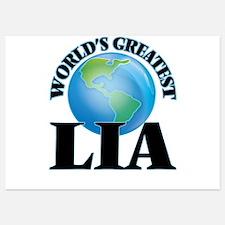 World's Greatest Lia Invitations
