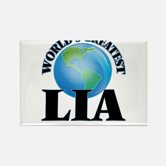 World's Greatest Lia Magnets