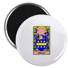 ALFONSO Coat of Arms Magnet