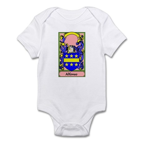 ALFONSO Coat of Arms Infant Bodysuit